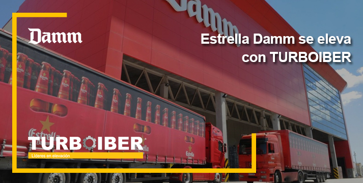 Estrella Damm se eleva con turboiber