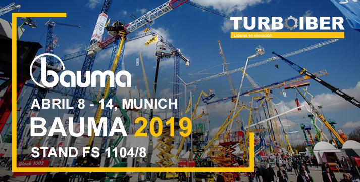 Bauma 2019 Turboiber
