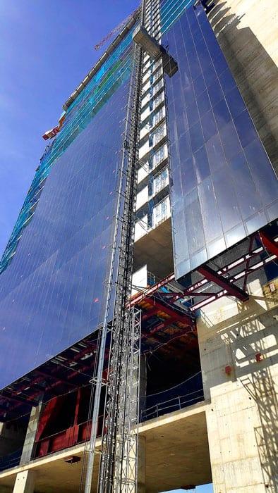 elevador edificio Caleido