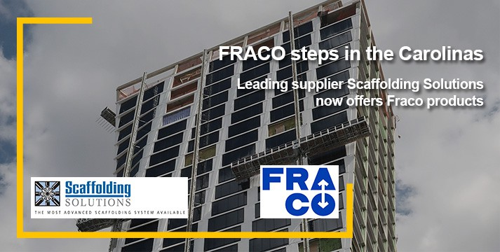 FRACO STEPS IN THE CAROLINAS