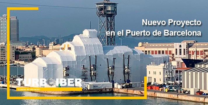 Nuevo proyecto en el Puerto de Barcelona